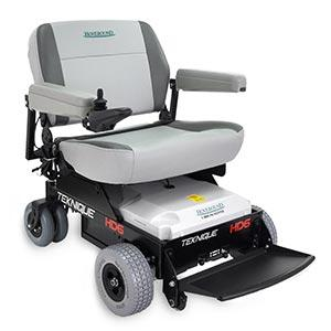 The Teknique HD-6 bariatric power wheelchair accommodates up to 600 pounds