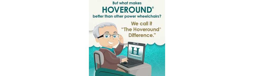Infographic of The Hoveround Difference