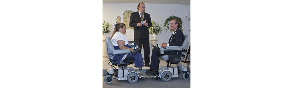 A Hoveround Wedding for Paul & Cheryl