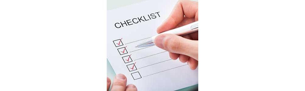 Power Wheelchair Weekly Maintenance Checklist