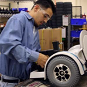 Get to know the important parts that go into electric wheelchairs (electronic wheelchairs)