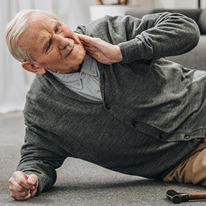 causes of falls in elderly loved ones like this man who fell