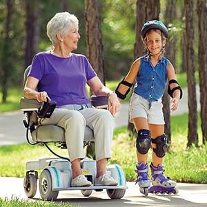A power wheelchair can help you regain your mobility