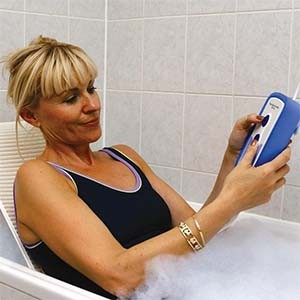 Mobility lifts such as this bath lift can help you remain in your home safely.