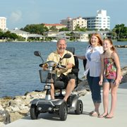 A four wheel motorized scooter can increase your independence