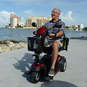 A 3 wheel motorized scooter can improve your mobility