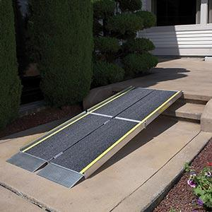 Portable ramps can make vacation much more accessible