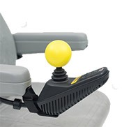 A great power chair accessory is the joystick ball knob