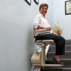 Stair lifts can help you safely remain in your home as you age.