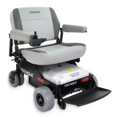 "HD6 Power Wheelchair with 25"" Seat Front Quarter Right View"