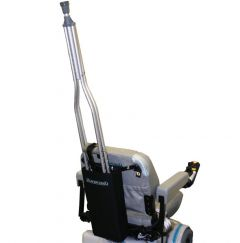 Power Wheelchair Crutch Holder