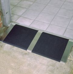 10in Threshold Ramp on Entry Door