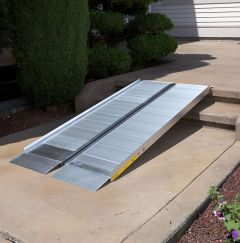 Single-Fold Portable Wheelchair Ramp
