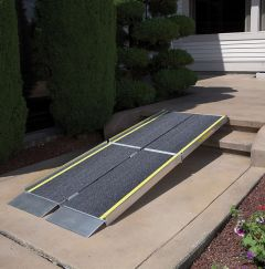 Tri-Fold Portable Wheelchair Ramp