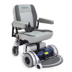 "LX5 Blue 20"" Seat Power Wheelchair"