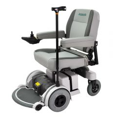 Power Wheelchair Cane Holder