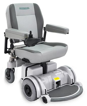 The all-new MPV5 power wheelchair from Hoveround