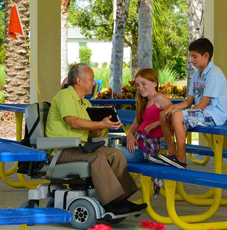 Hoveround power wheelchairs and everyday life