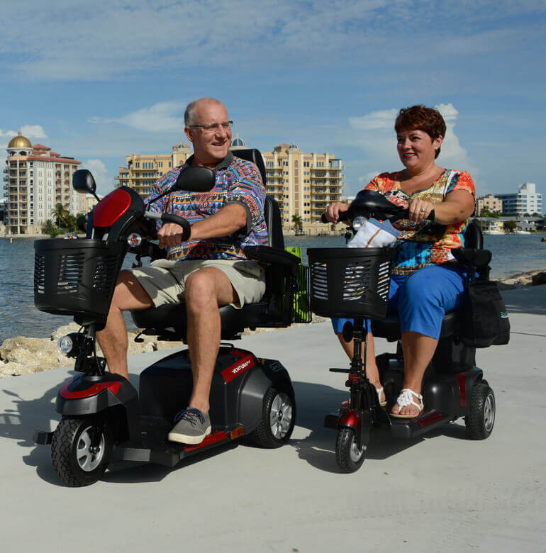 Power Scooters in everyday life