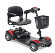 a typical motorized scooter from Hoveround