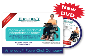 the free DVD kit from Hoveround Corporation