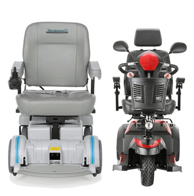 scooter or power wheelchair - compare today