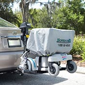 The HoverLift allows you to easily take your power chair anywhere!