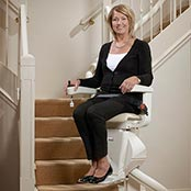 HoverGllide stair lift from Hoveround is designed especially for your home