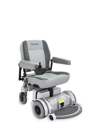 The MPV5 is one of Hoveround's power chairs