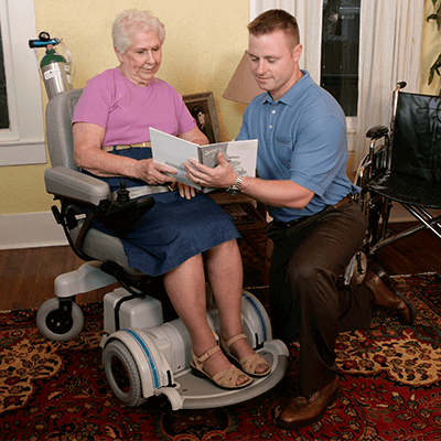 hoveround delivery