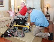 Power wheelchair maintenance doesn't always require a tech
