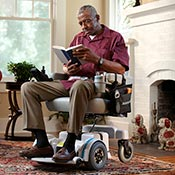 Hoveround has been making high quality power chairs for over 28 years